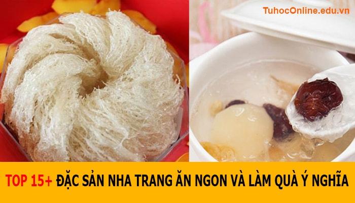 Yến sào – Đặc sản Nha Trang làm quà ý nghĩa