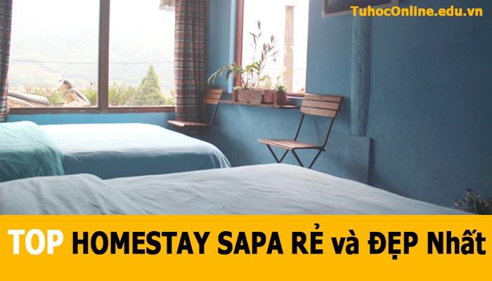 TOP HOMESTAY SAPA RẺ và ĐẸP Nhất