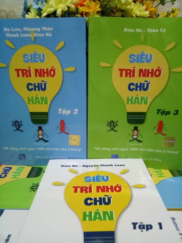 Nơi Bán Combo 3 quyển Sách Siêu Trí Nhớ Chữ Hán - Giá rẻ - Chất lượng Rẻ Nhất