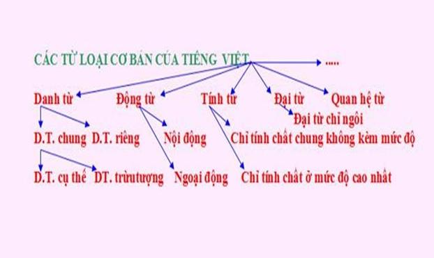 PHÂN BIỆT DANH TỪ - ĐỘNG TỪ - TÍNH TỪ Tiếng Việt Tiểu Học